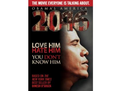 Obamas America 2016 DVD