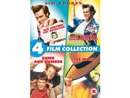 Jim Carrey - Ace Ventura - Pet Detective / When Nature Calls / Dumb And Dumber / The Mask DVD