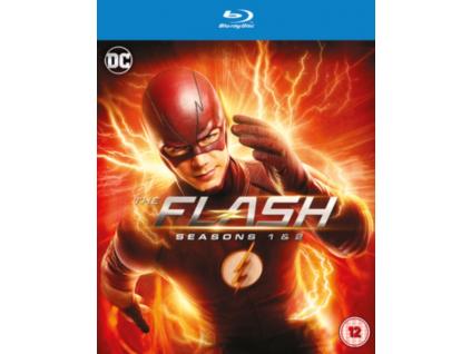 The Flash Seasons 1 to 2 Blu-Ray