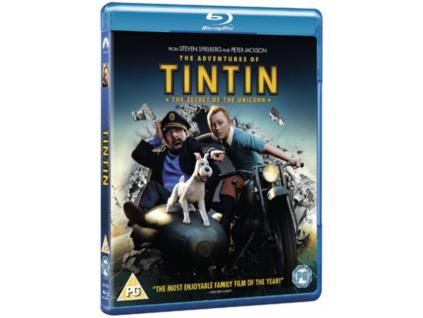 The Adventures Of Tintin - The Secret Of The Unicorn Blu-Ray