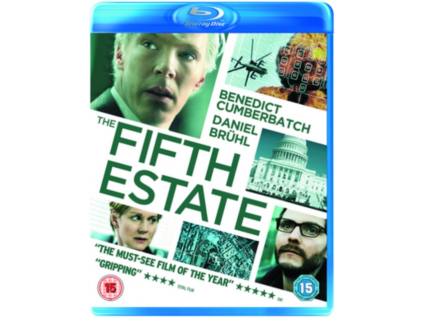 The Fifth Estate Blu-Ray