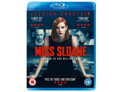 Miss Sloane Blu-Ray