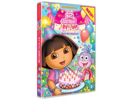 Dora The Explorer - Doras Big Birthday Adventure DVD