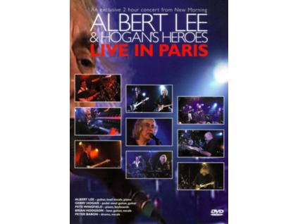 ALBERT LEE & HOGANS HEROES - Live In Paris (DVD)