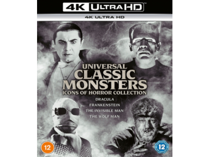 Universal Classic Monsters: Icons Of Horror Collection (Blu-ray 4K)