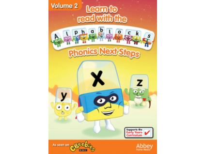 Alphablocks Volume 2  Phonics Next Steps (DVD)