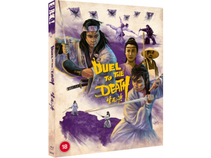 Duel To The Death Limited Edition (With Slipcase + Booklet) Blu-Ray