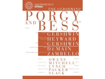 DEMAIN OWENS MITCHELL - Gershwin Porgy And Bess (DVD)