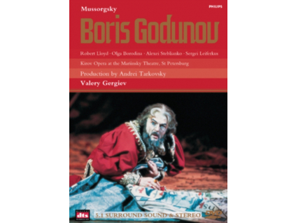 KIROV OPERA/TARKOVSKY - Mussorgsky/Boris Godunov (DVD)
