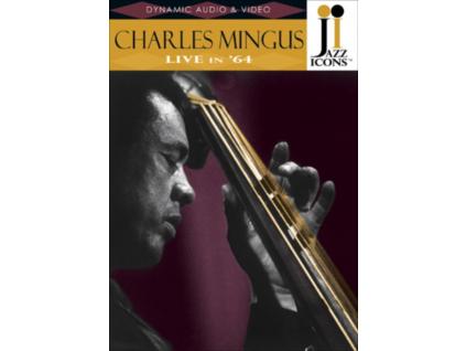 CHARLES MINGUS - Charles Mingus Live In 64 (DVD)