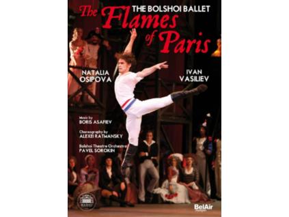 BOLSHOI BALLET  SOROKIN - The Flames Of Paris (DVD)