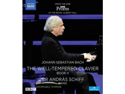 ANDRAS SCHIFF - Johann Sepbastian Bach: The Well-Tempered Clavier. Book II (Blu-ray)