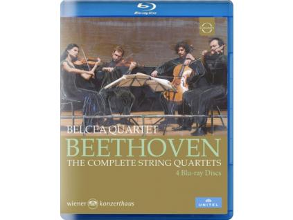 BELCEA QUARTET - Belcea Quartet - Beethoven: The Complete String Quartets (Blu-ray)