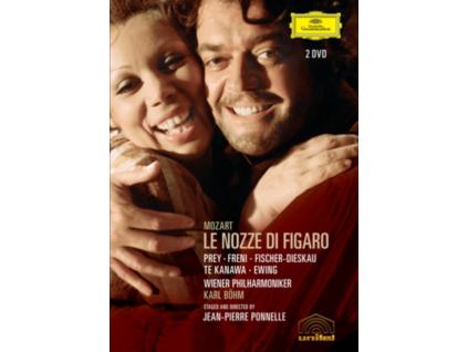 HERMANN PREY MIRELLA FRENI DIETRICH FISCHER-DIESKAU WIENER PHILHARMONIKER KARL BOHM PHILIP EISENBERG - Mozart: Figaro (DVD)