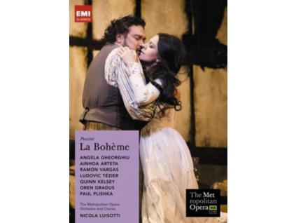 METROPOLITAN OP OR / LUISOTTI - Puccini / La Boheme (DVD)