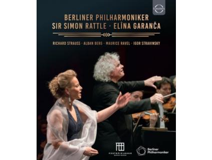 BERLINER PHILHARMONIKER / SIR SIMON RATTLE / ELINA GARANCA - Berliner Philharmoniker - Sir Simon Rattle - Elina Garanca In Baden-Baden (Blu-ray)