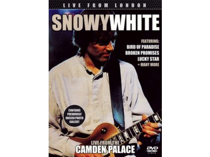SNOWY WHITE - Live From London (DVD)