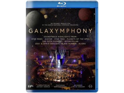 DANISH NATIONAL SYMPHONY ORCHESTRA - Galaxymphony (Blu-ray)