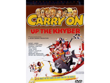 Carry On Up The Khyber DVD