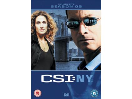 CSI New York Season 5 DVD