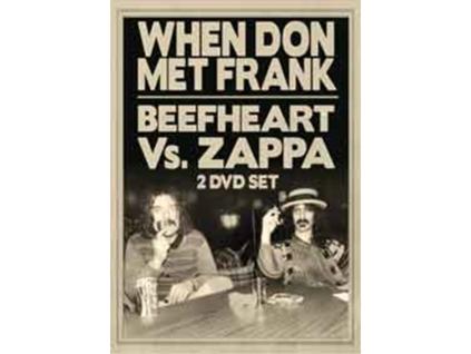 CAPTAIN BEEFHEART / FRANK ZAPPA - When Don Met Frank / Beefheart Vs Zappa (DVD)