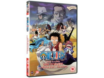 One Piece - The Movie - The Pirates And The Princess Of The Desert DVD