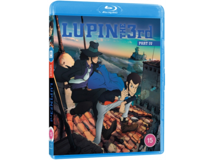 Lupin the Third Part 4 Complete Series Blu-Ray