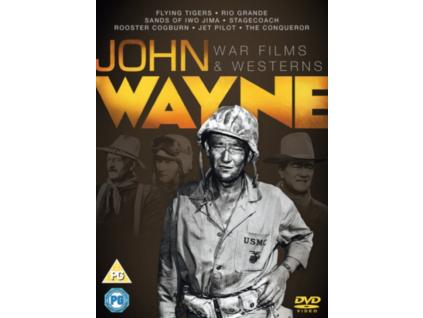 John Wayne - War And Westerns Collection (7 Films) DVD