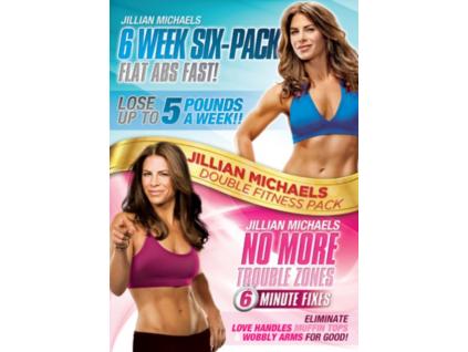 Jillian Michaels - Six Week Six-Pack / No More Trouble Zones (2 DVD)