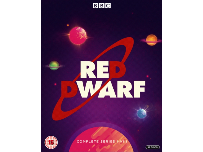 Red Dwarf Series 1 - 8 Boxset BD [2018] (Blu-ray)