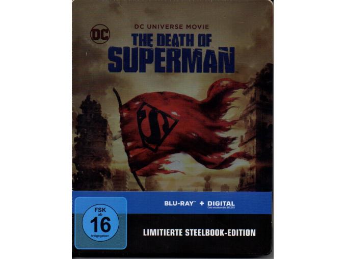 blu ray steelbook the death of superman