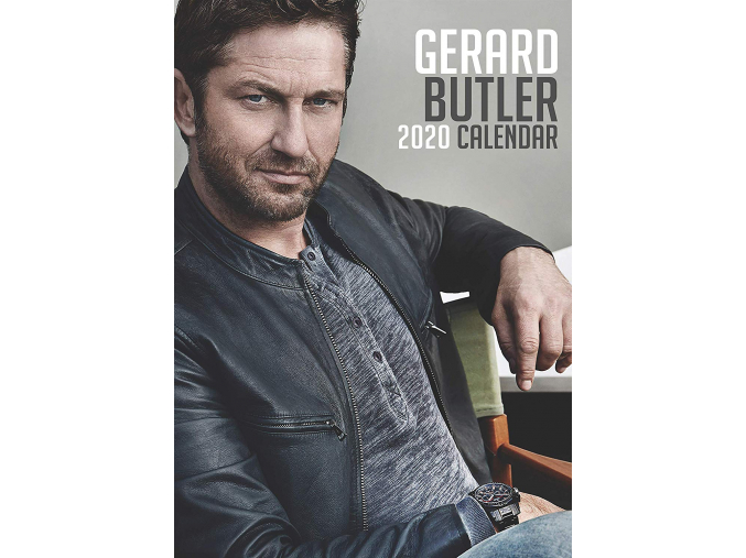 gerard butler kalendář 2020 a3