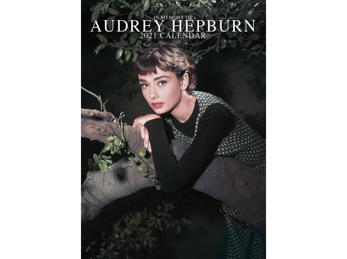 audrey hepburn kalendář 2021 a3