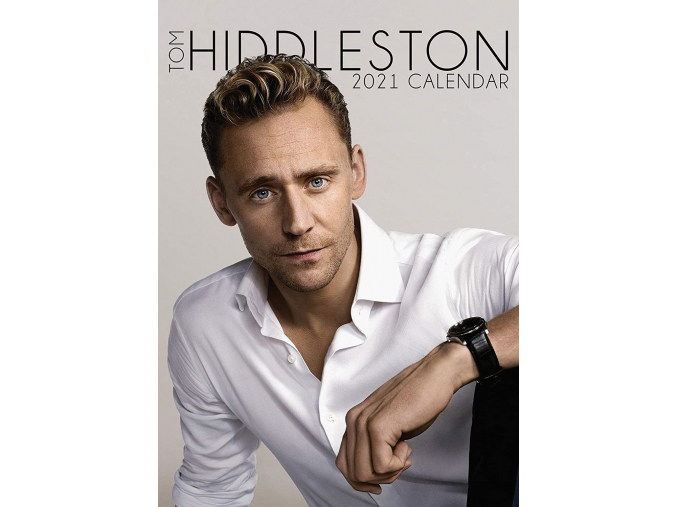 tom hiddleston kalendář 2021 a3