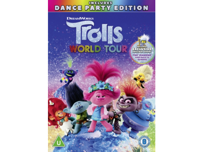 Trolls World Tour (DVD) [2020]