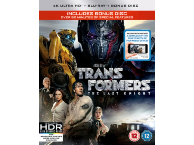 Transformers: The Last Knight (UHD + Blu-RayTM + Bonus Disc)