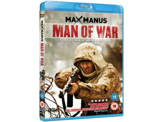 Max Manus - Man Of War (Blu-Ray)