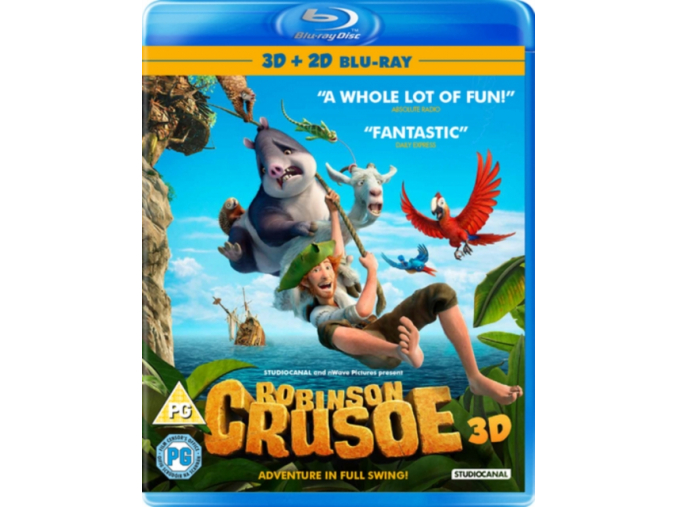 Robinson Crusoe [Blu-ray]