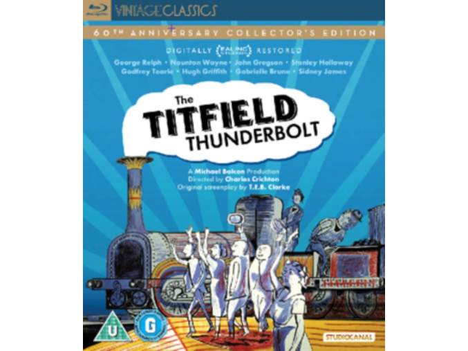 The Titfield Thunderbolt: Digitally Restored 60th Anniversary (Ealing) (Blu-ray)