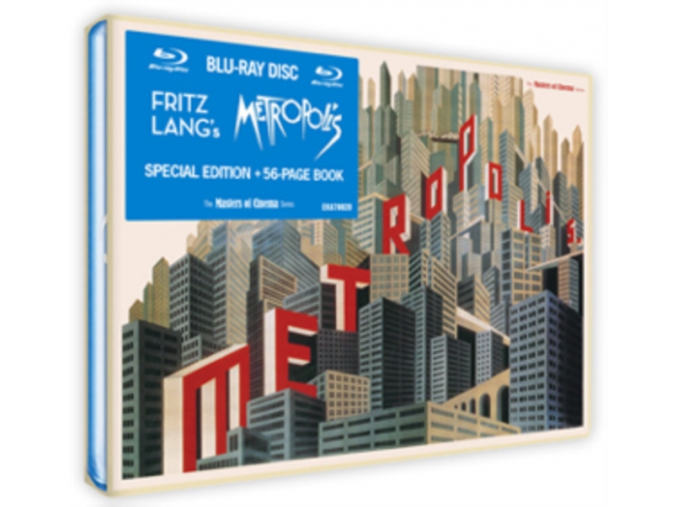 Metropolis [Reconstructed & Restored] (Masters of Cinema) [Blu-ray] [1927]