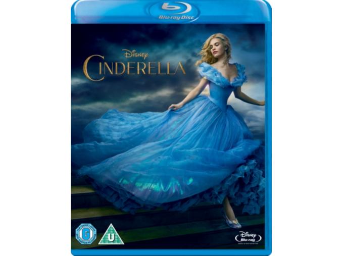 Cinderella (2015) (Blu-Ray)