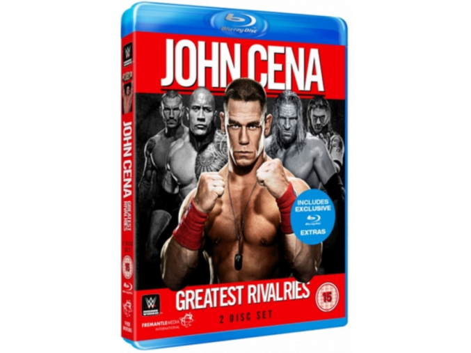 WWE: John Cena - Greatest Rivalries [Blu-ray]