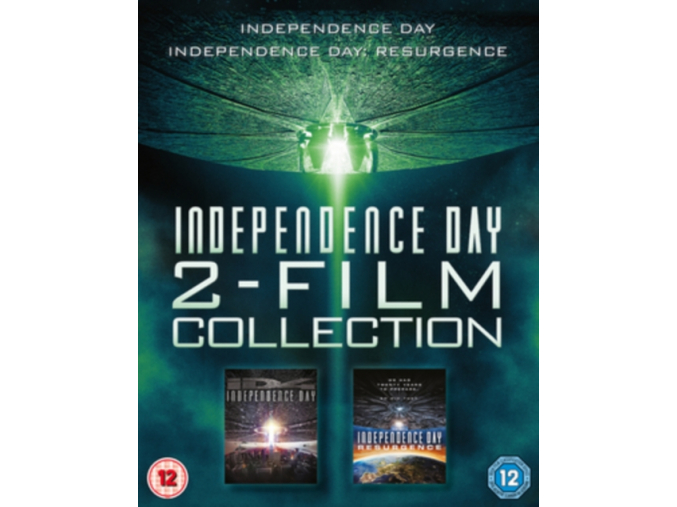 Independence Day 2 Film Collection [Blu-ray] (Blu-ray)