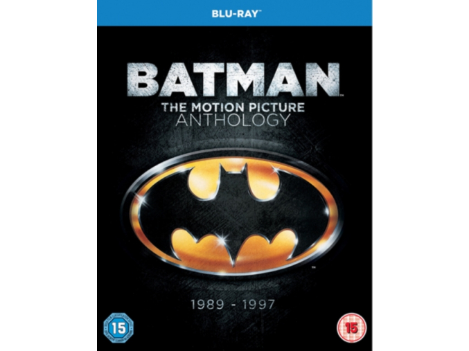 Batman - The Motion Picture Anthology 1989-1997 (Blu-Ray)