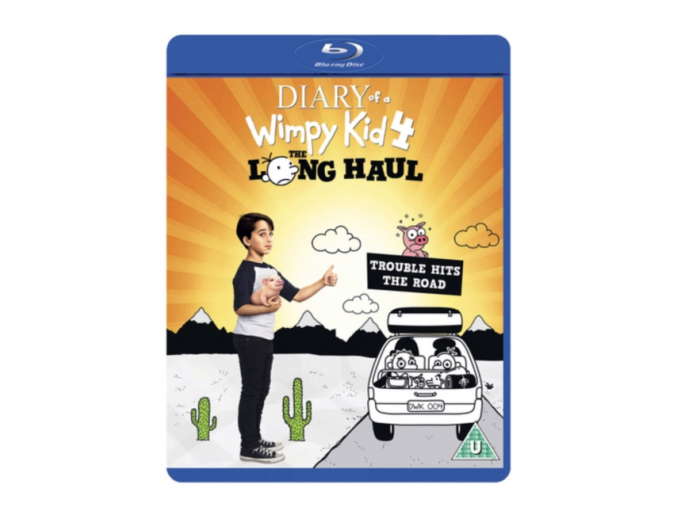 Diary Of A Wimpy Kid 4: The Long Haul [Blu-ray] [2017] (Blu-ray)