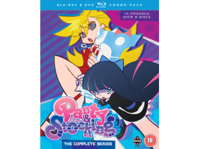 Panty and Stocking With Garter Belt: The Complete Series (Blu-ray)