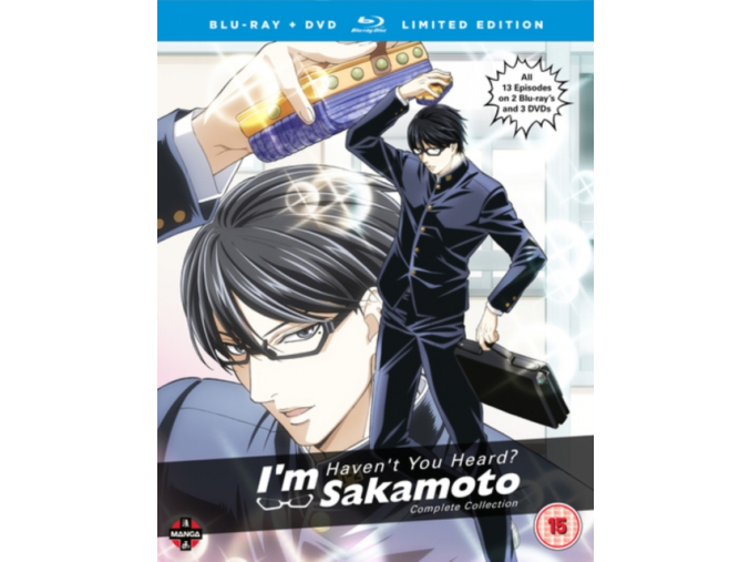 Haven't You Heard? I m Sakamoto Complete Season 1 Collection Blu-ray/DVD Collector s Edition (Blu-ray)