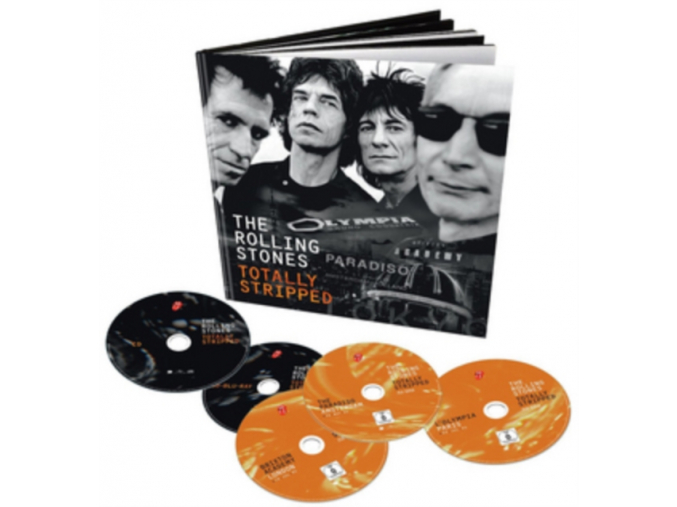 The Rolling Stones: Totally Stripped [4 x BD + 1 CD] [Blu-ray] (Blu-ray)