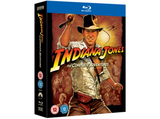 Indiana Jones – The Complete Adventures Quadrilogy (Blu-Ray)