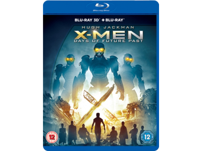 X-Men Days Of Future Past 3D ( Blu-ray )